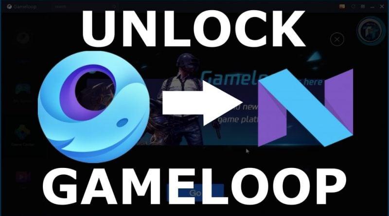 unlock gameloop