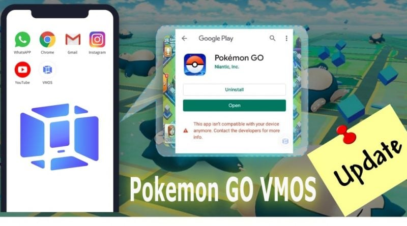 update pokemon go on vmos