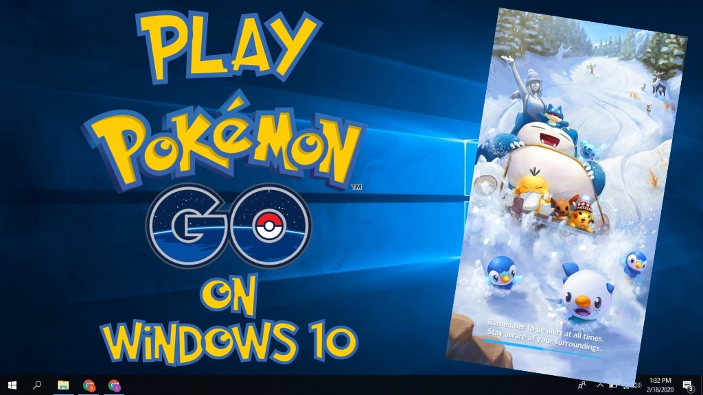 play pokemon go on pc windows 10