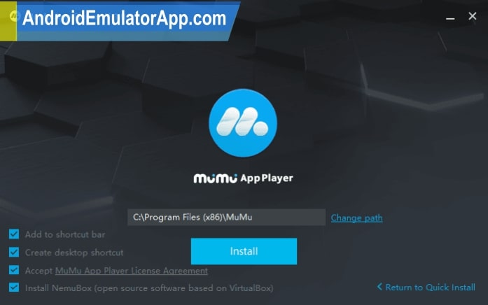 mumu app player offline installer