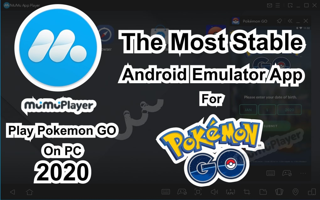 how to play pokemon go on pc 2020